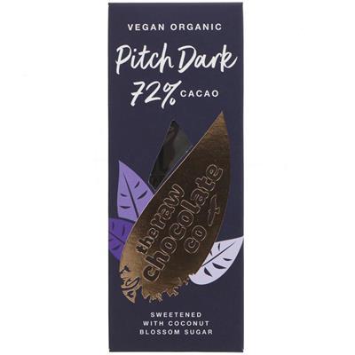 The Raw Chocolate Company Pitch Dark 72 38g