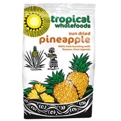 Tropical Wholefoods - Sundried Pineapple (100g) - Watson & Pratt's