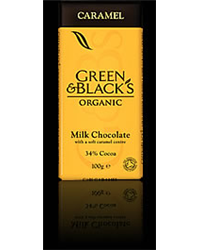 Green & Blacks Caramel (100g)
