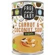 Free and Easy - Carrot & Coconut Soup (400g)