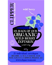 Clipper Wild Berry Infusion (20) Tea