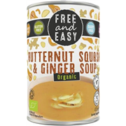 Free and Easy - Butternut Squash & Ginger Soup (400g)
