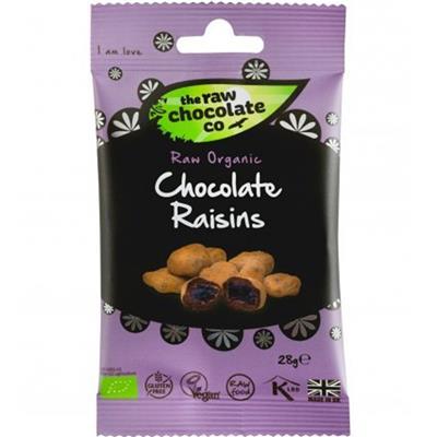 The Raw Chocolate Company Chocolate Raisins 28g